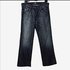 7 for All Mankind A PKT Relaxed Jeans 32X31